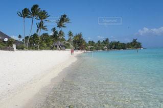 ボラボラ島のビーチ - No.991825