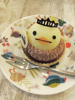 小鳥ケーキの写真・画像素材[1007833]