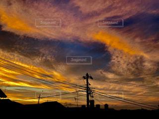 夕焼けの写真・画像素材[1260158]