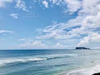 青空と海の写真・画像素材[1292104]