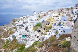 サントリーニ島の写真・画像素材[1324291]