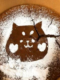 豆腐でガトーショコラ!おしばをトッピング😊 - No.1001747