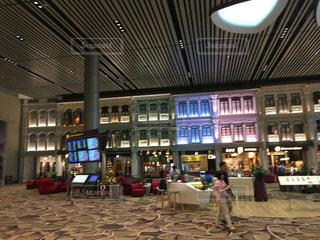 シンガポールチャンギ空港のターミナル4の写真・画像素材[993480]