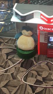 シンガポールチャンギ空港内のカビゴンの写真・画像素材[993481]