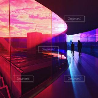 アロスオーフス美術館の「Your Rainbow Panorama」の写真・画像素材[993363]