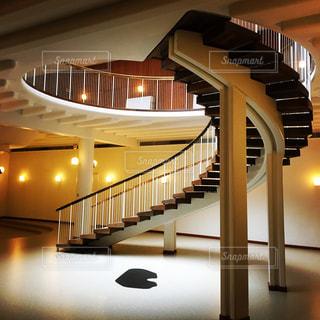 デンマークの螺旋階段の写真・画像素材[993367]
