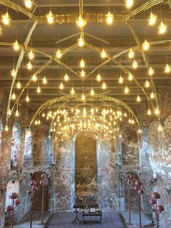 デンマークのお城の中にある教会の写真・画像素材[995619]
