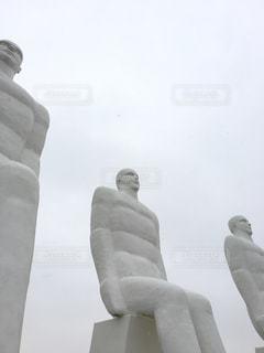 デンマークのEsbjergにある銅像です🇩🇰の写真・画像素材[1001214]