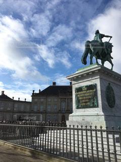 デンマークの首都コペンハーゲンにある人気観光地「アマリエンボー」の写真・画像素材[1025914]