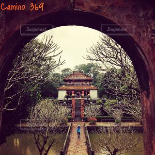 皇帝陵の写真・画像素材[1027975]