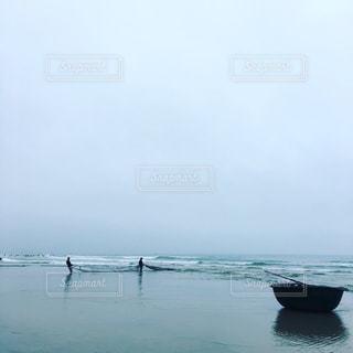 漁の写真・画像素材[1037098]