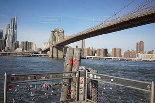 ブルックリンブリッジの写真・画像素材[1066344]