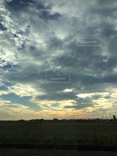 夕焼け空の写真・画像素材[1005501]
