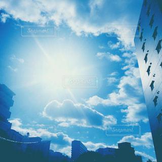 空の雲の写真・画像素材[1001170]