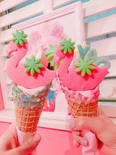 エディーズアイスクリームの写真・画像素材[994398]