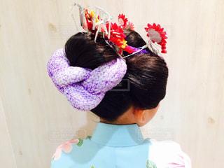 七五三で日本髪 - No.994553