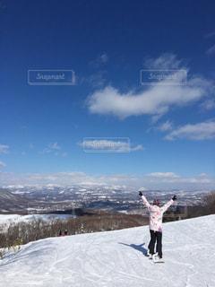 スノーボード ゲレンデの写真・画像素材[2949552]