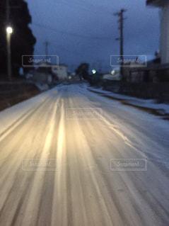 雪道の写真・画像素材[994942]