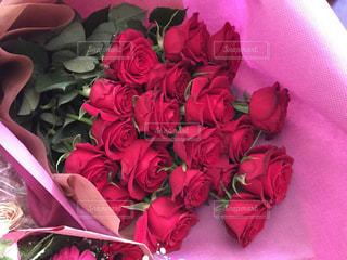 バラの花束の写真・画像素材[996222]