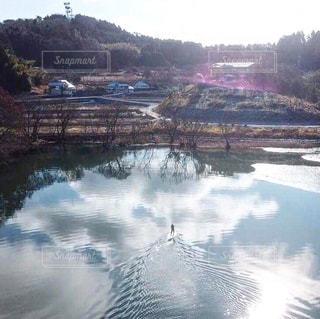 池SUPの写真・画像素材[996189]