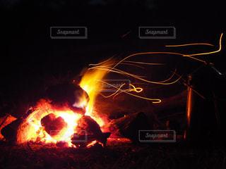焚き火の写真・画像素材[996257]