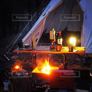 キャンプの夜 - No.998355