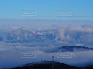 雪山と雲海の写真・画像素材[998405]