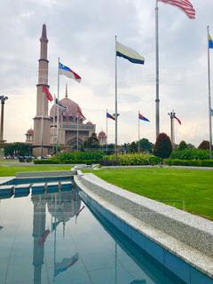 pink mosqueの写真・画像素材[1044498]
