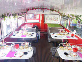 afternoon tea busの写真・画像素材[1045535]