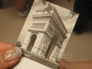 凱旋門の写真・画像素材[1045555]