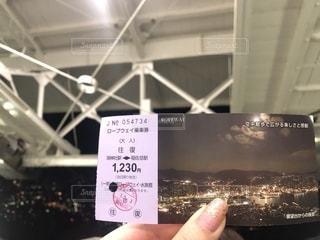 カードを持っている手の写真・画像素材[2107190]