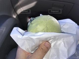 白い車の手の写真・画像素材[996380]