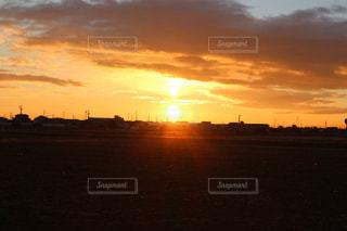 日の出の写真・画像素材[1002586]