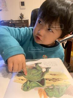 恐竜大好き!の写真・画像素材[4393569]