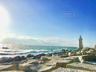 伊良湖岬の灯台 - No.1002436