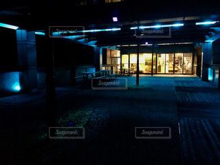 ライトアップされた蔵王山展望台の写真・画像素材[1371710]
