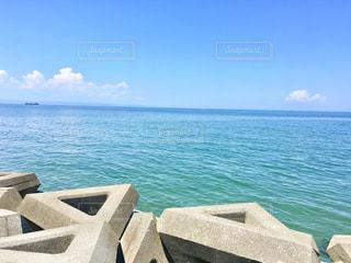 神崎海水浴場の絶景の写真・画像素材[1371875]