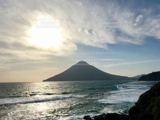 鹿児島の開聞岳の写真・画像素材[1376059]