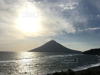 鹿児島の開聞岳の写真・画像素材[1376061]