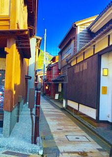 石川県の東茶屋街の写真・画像素材[1388556]