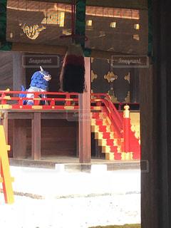 下鴨神社にての写真・画像素材[997444]