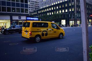 ニューヨークのイエローキャブ(タクシー)の写真・画像素材[998533]