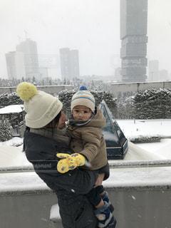 雪遊びの写真・画像素材[998575]
