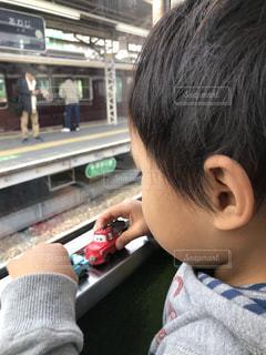 電車の写真・画像素材[1021162]