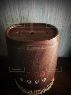 木目調 アロマディフューザーの写真・画像素材[1006161]