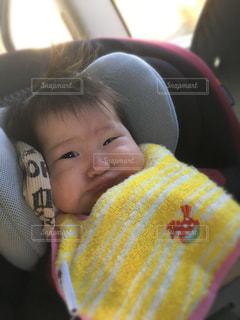 ブサ可愛赤ちゃんの写真・画像素材[900012]