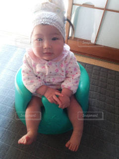 baby girlの写真・画像素材[1093298]
