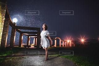 幻想的なポートレートの写真・画像素材[2068210]