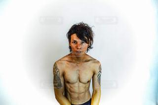 筋肉質な男性の写真・画像素材[2069947]