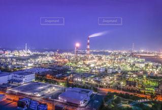 工場夜景の写真・画像素材[2142962]